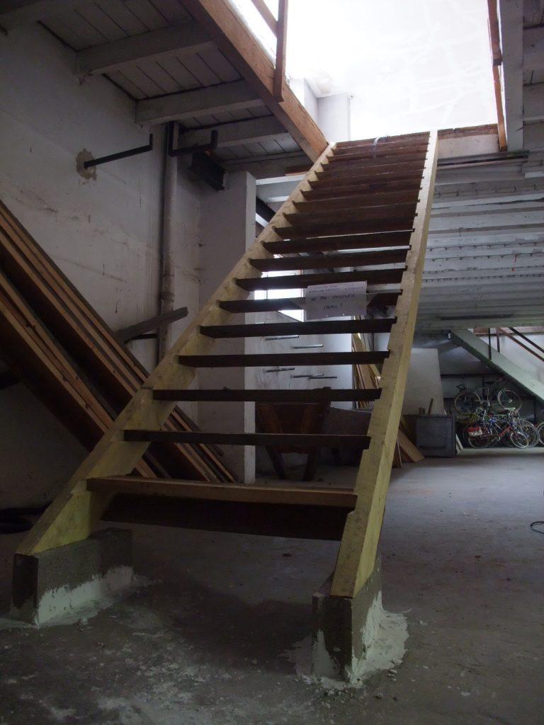 même l'escalier est DIY