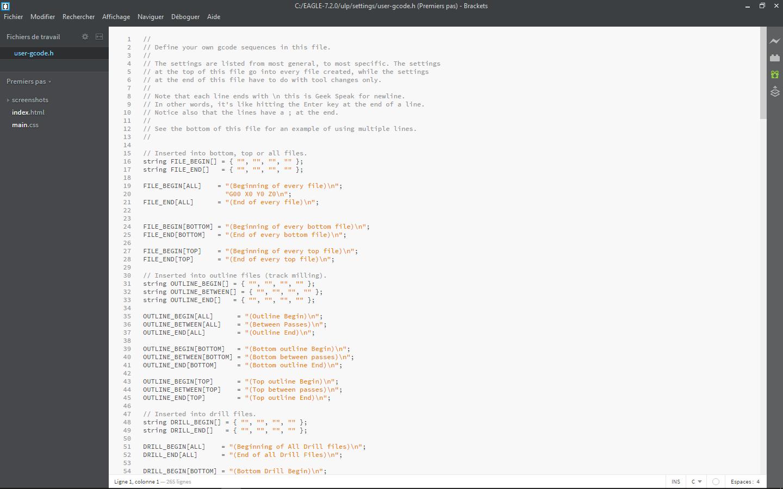 fichier gcode